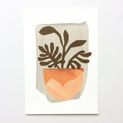 'Pot Plant' Collage