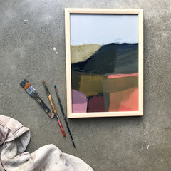 'RIDGE' COLOUR STUDY - SOLD