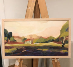 'SUMMER HUT' original landscape
