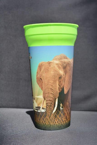 30 Oz. Cup African Elephant