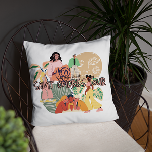 For the Girls Throw Pillow