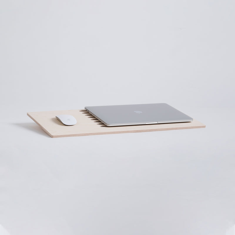 Delaptop comfortable minimalist laptop tray