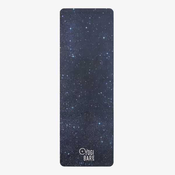 Yogi Bare Lightweight Travel Yoga Exercise Mat Cosmic