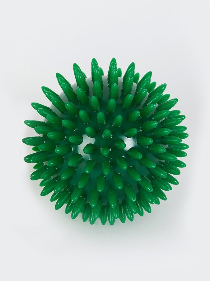 Spikey Massage Ball tension release green