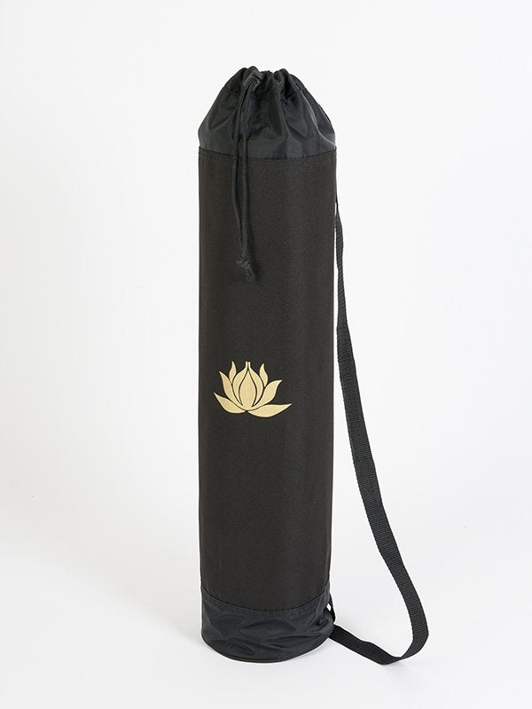Yoga Studio Black Lotus Yoga Mat Bag