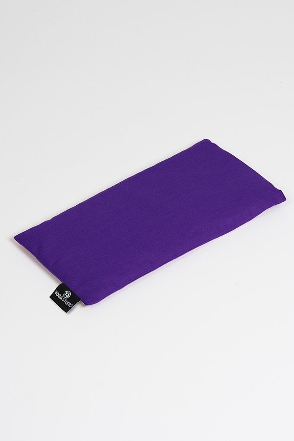 Organic Unscented Linseed Eye Pillow Purple