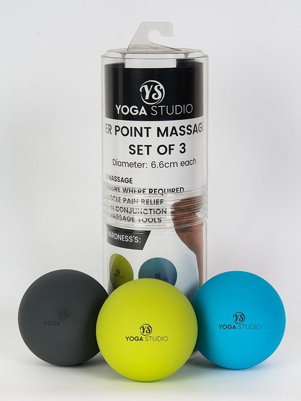 Trigger Point Massage Balls Set Of 3 packaging