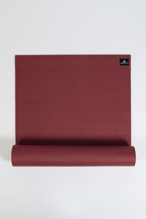 Yoga Studio 6mm Sticky Cheap Yoga Mat Burgundy