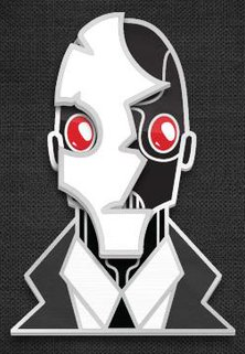 Automata Kickstarter Pin - Carl Add-On