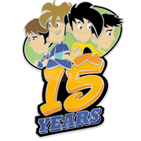 15th Anniversary Pin