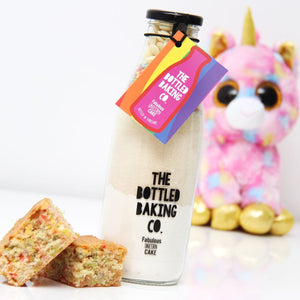 Kids Unicorn Cake Mix & Star Apron Gift Set