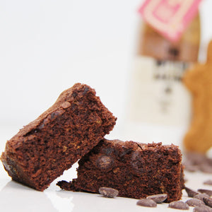 Extravagant Gingerbread Brownies