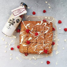Load image into Gallery viewer, Irresistible White Chocolate & Raspberry Tray Bake