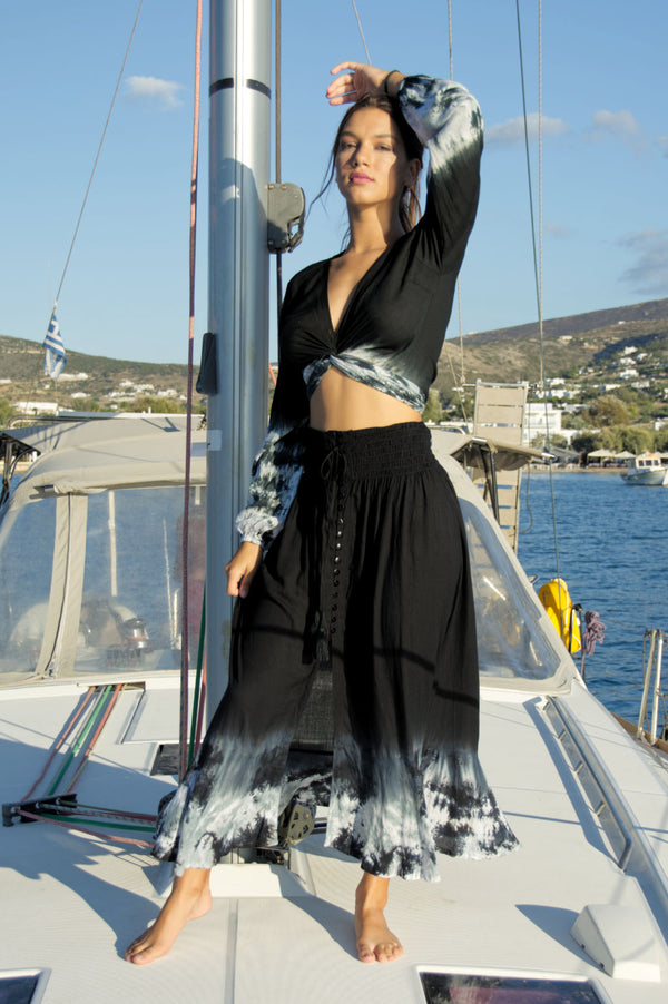 Agus Skirt Black Sea Breeze