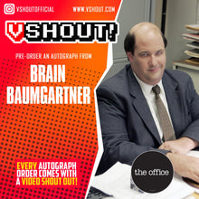 Load image into Gallery viewer, Brian Baumgartner Official vShout! Autograph Pre-Order