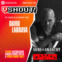 Load image into Gallery viewer, David Labrava Official vShout! Autograph Pre-Order
