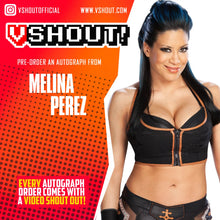 Load image into Gallery viewer, Melina Official vShout! Autograph Pre-Order