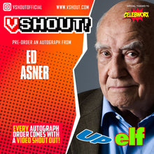 Load image into Gallery viewer, Closed Ed Asner Official vShout! Autograph Pre-Order