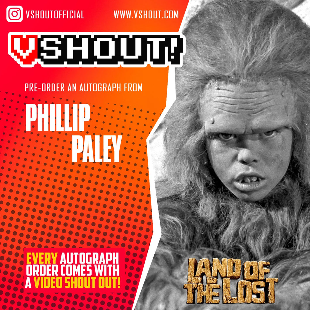 Phillip Paley Official vShout! Autograph Pre-Order