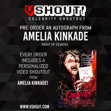 Load image into Gallery viewer, CLOSED Amelia Kinkade Official vShout! Autograph Pre-Order