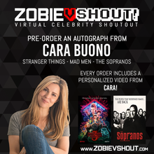 Load image into Gallery viewer, Cara Buono Official vShout! Autograph Pre-Order