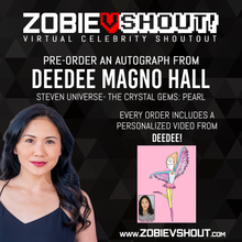 Load image into Gallery viewer, Closed Deedee Magno Hall Official vShout! Autograph Pre-Order
