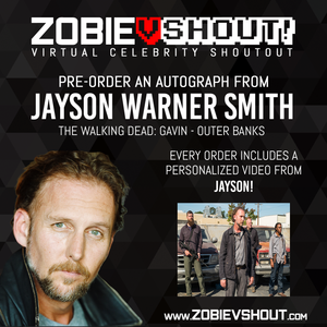 Jayson Warner Smith Official vShout! Autograph Pre-Order