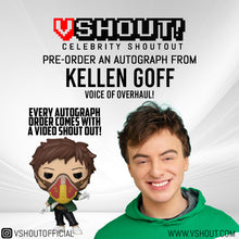 Load image into Gallery viewer, Kellen Goff Official vShout! Autograph Pre-Order