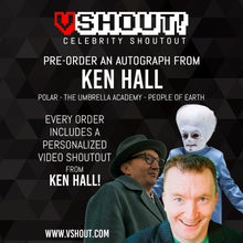 Load image into Gallery viewer, CLOSED Ken Hall Official vShout! Autograph Pre-Order