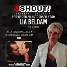 Load image into Gallery viewer, Lia Beldam Official vShout! Autograph Pre-Order