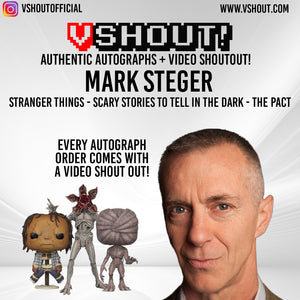 Closed Mark Steger Official vShout! Autograph Pre-Order