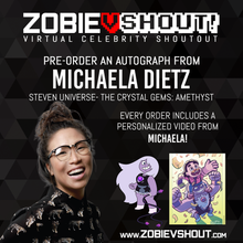 Load image into Gallery viewer, Michaela Dietz Official vShout! Autograph Pre-Order