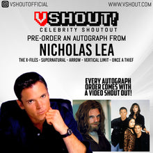 Load image into Gallery viewer, Nicholas Lea Official vShout! Autograph Pre-Order