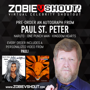 Closed Paul St. Peter Official vShout! Autograph Pre-Order