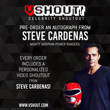 Load image into Gallery viewer, Steve Cardenas Official Zobie vShout! Autograph Pre-Order