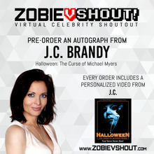 Load image into Gallery viewer, J.C. Brandy Official vSHOUT! Autograph Pre-Order