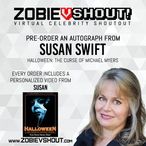 CLOSED Susan Swift Official vSHOUT! Autograph Pre-Order