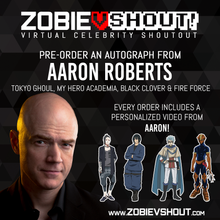 Load image into Gallery viewer, Aaron Roberts Official vShout! Autograph Pre-Order