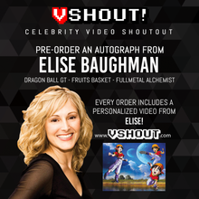 Load image into Gallery viewer, Closed Elise Baughman Official vSHOUT! Autograph Pre-Order