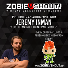 Load image into Gallery viewer, Jeremy Inman Official vShout! Autograph Pre-Order