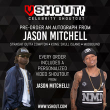 Load image into Gallery viewer, Jason Mitchell Official Zobie vShout! Autograph Pre-Order