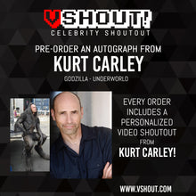 Load image into Gallery viewer, Kurt Carley Official vShout! Autograph Pre-Order