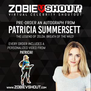CLOSED Patricia Summersett Official vShout! Autograph Pre-Order