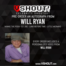 Load image into Gallery viewer, Closed Will Ryan Official Zobie vShout! Autograph Pre-Order