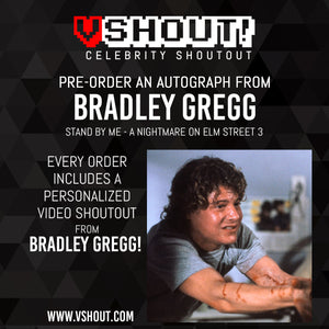 CLOSED Bradley Gregg Official vShout! Autograph Pre-Order