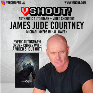 James Jude Courtney Official vShout! Autograph Pre-Order