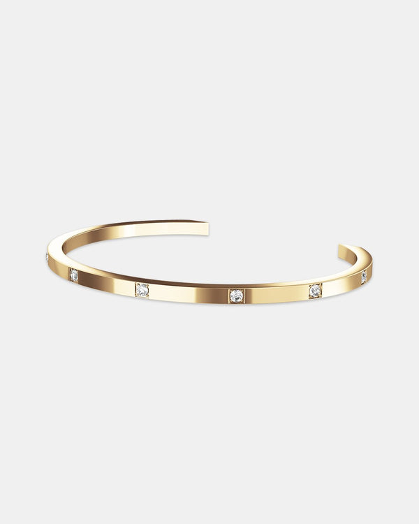 Brilliant Bangle Polished - Waldor & Co.