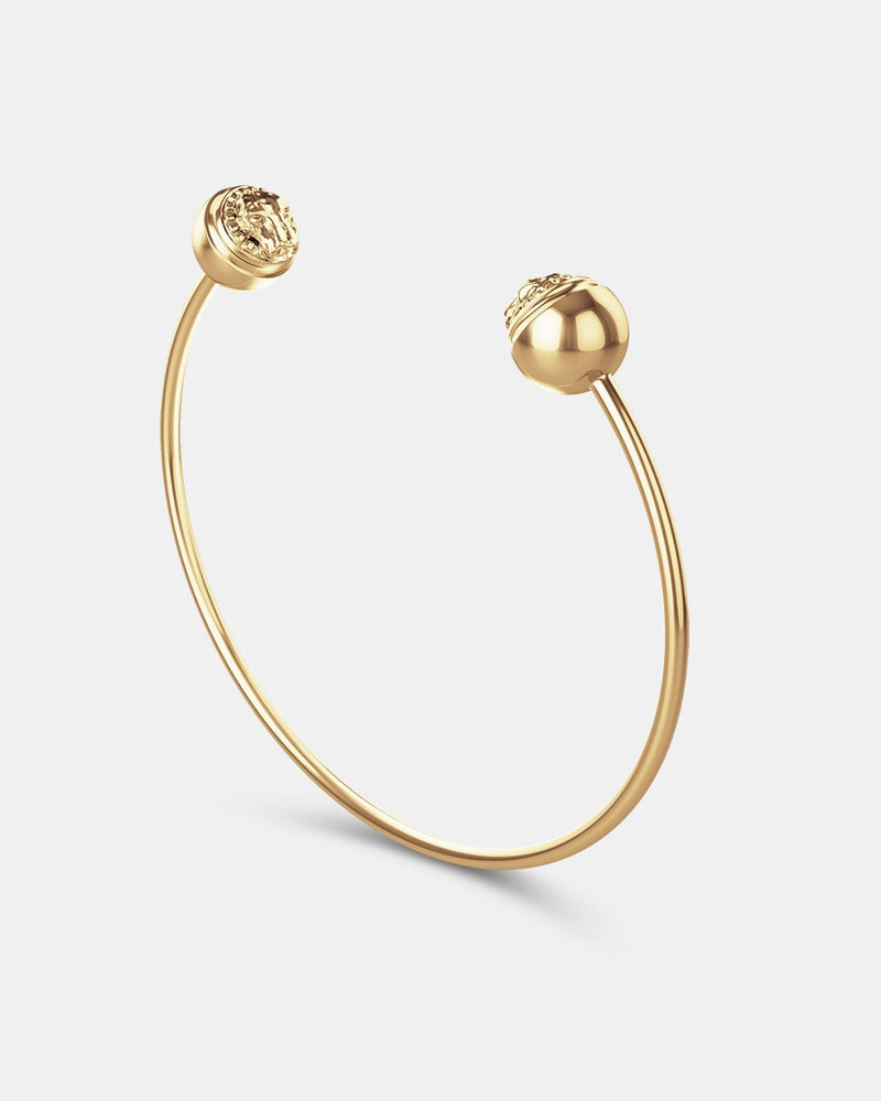 Lioness Bangle Polished - Waldor & Co.