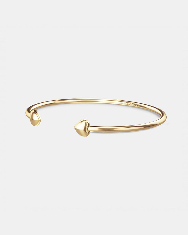 Lover Bangle Polished - Waldor & Co.