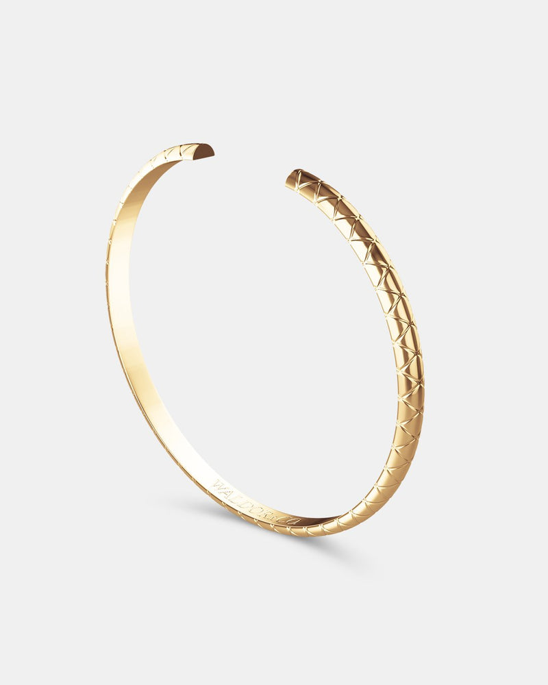 Python Bangle Polished - Waldor & Co.